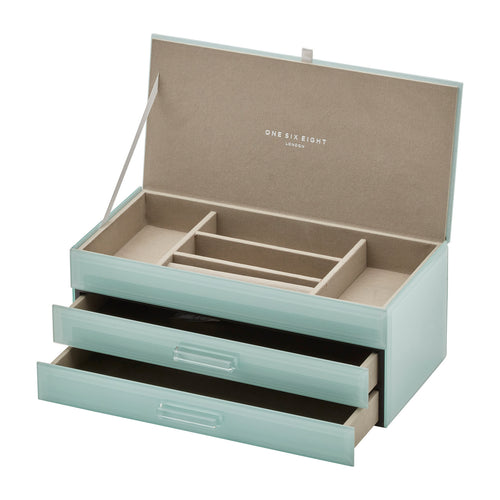 Gabriella Large Jewellery Box | Assorted Colours