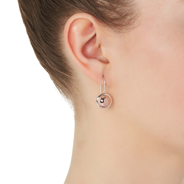 Rosy Glow Earring | Rose Gold | Najo