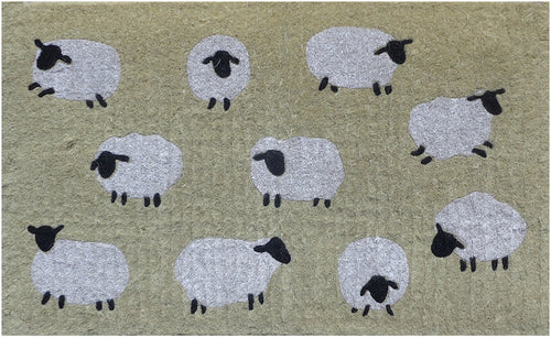 Sheep Doormat