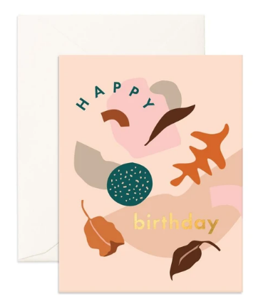 Birthday Shape Party - Fox & Fallow Greeting Card