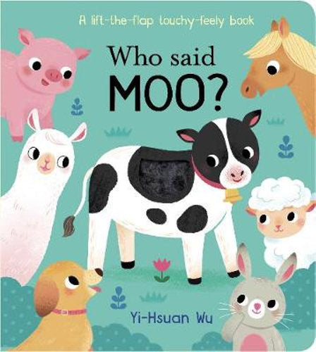 Who Said Moo? | Board Book