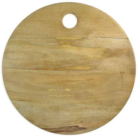 Round Mango Wood Serving Board 50cm