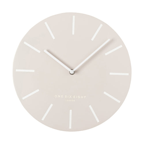 Chloe Blush | Silent Wall Clock | 30cm | One Six Eight