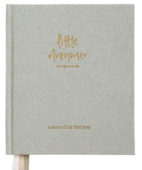 Little Dreamer | Baby Journal | SAGE GREEN - Emma Kate Co