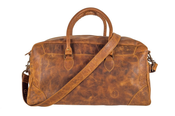Classic Duffle - Leather Luggage Bag Indepal Leather