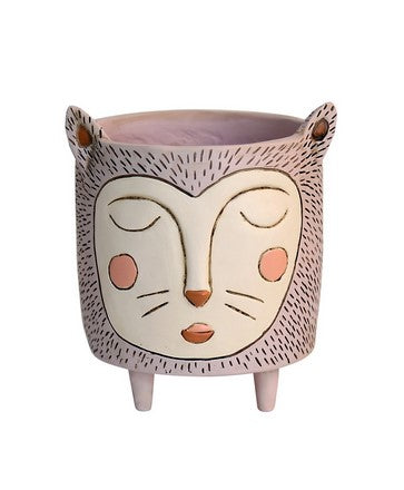 Purrs Cat | Resin Pot Planter