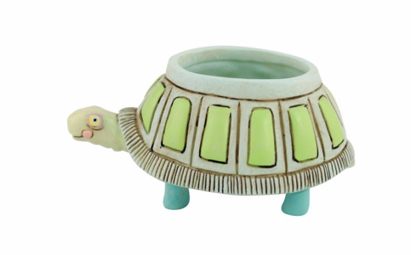 Baby Turtle Resin Pot Planter
