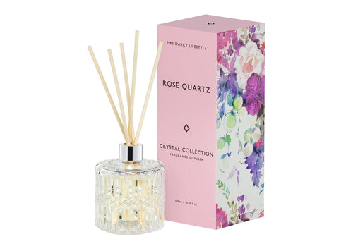 Rose Quartz - Peonies + Fresh Roses - Mrs Darcy Diffuser - Whatever Mudgee Gifts & Homewares
