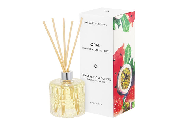 Diffuser Opal | Pavlova + Summer Fruits | Mrs Darcy