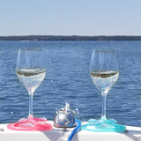 Glass on the Boat | Wine Glass Holder
