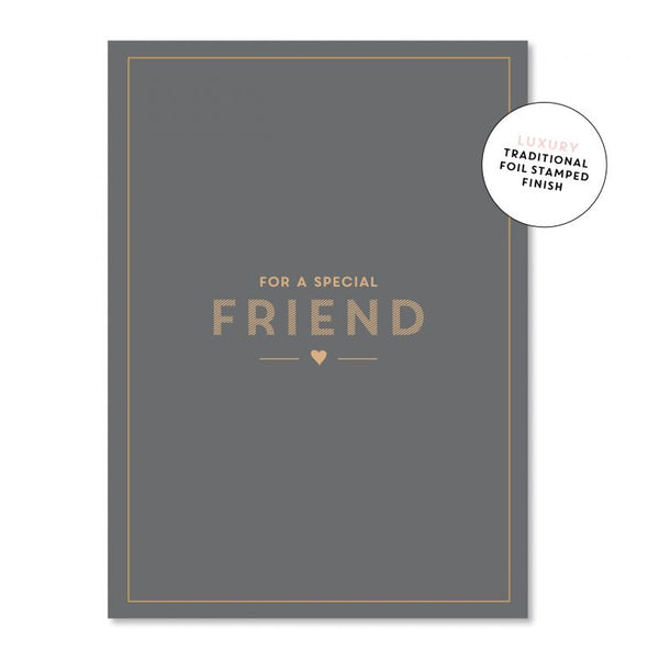 Special Friend - Just Smitten Greeting Card