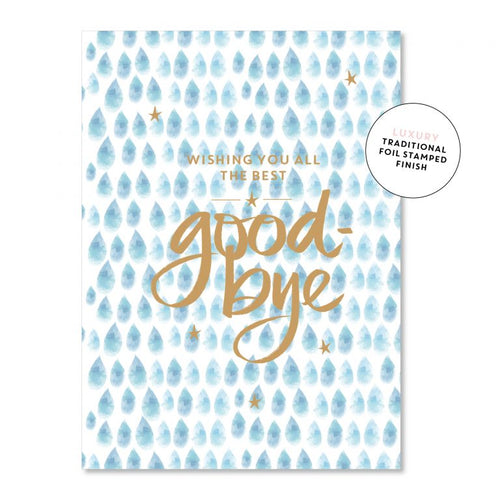 Good-Bye - Just Smitten Greeting Card