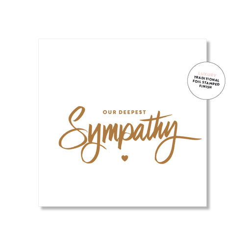 Sympathy - Just Smitten Greeting Card