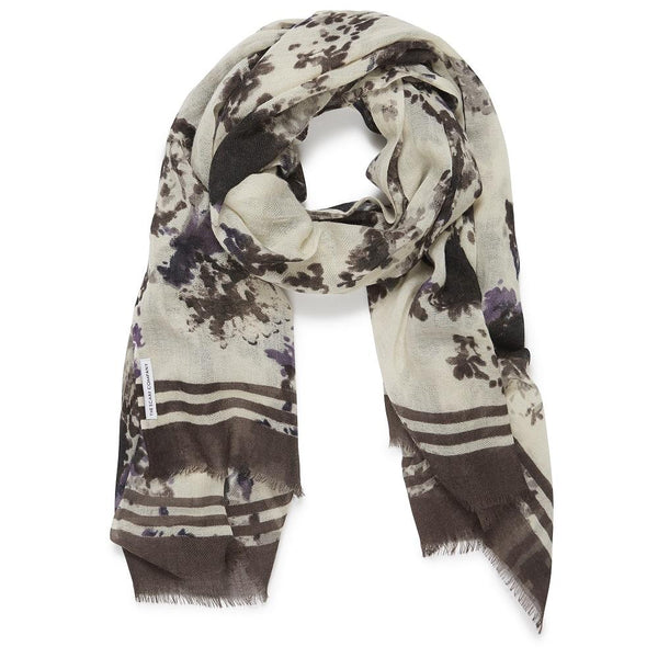 Makena Floral Scarf - The Scarf Company