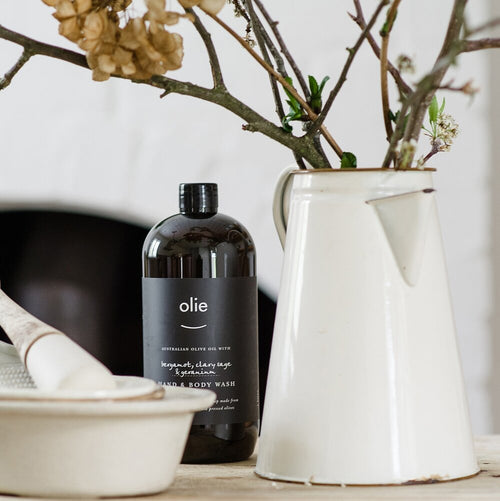 Hand & Body Wash 1 litre - Olieve & Olie