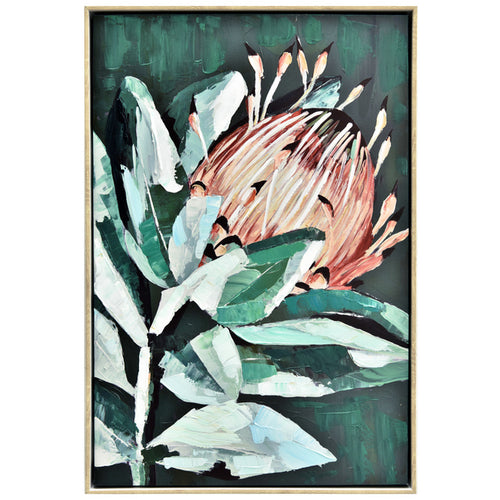 Leafy Protea | Painting