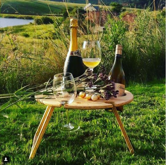 Round Folding Picnic Table - Whatever Mudgee Gifts & Homewares