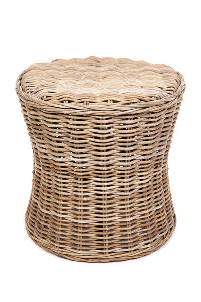 Hilton | Rattan Chair | Grey