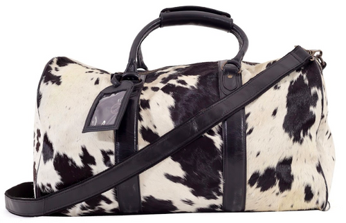 Beckwith Duffle - Leather Travel Bag Full Cowhide Indepal Leather