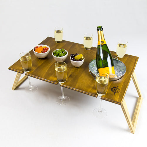 Banquet Rectangle Folding Picnic Table with Bucket - Whatever Mudgee Gifts & Homewares