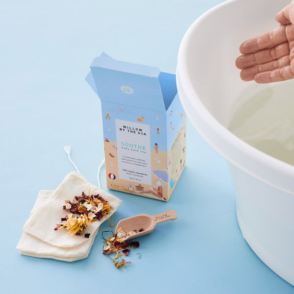 Baby Bath Tea - Soothe Willow By The Sea