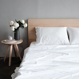 100% Organic Bamboo Sheet Set White - Whatever Mudgee Gifts & Homewares