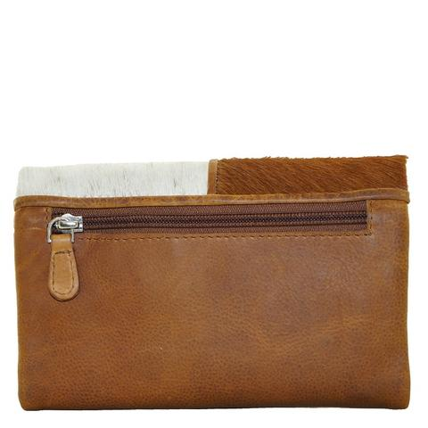 Cowhide Fold Leather Wallet