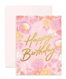 Happy Birthday Floribunda- Fox & Fallow Greeting Card