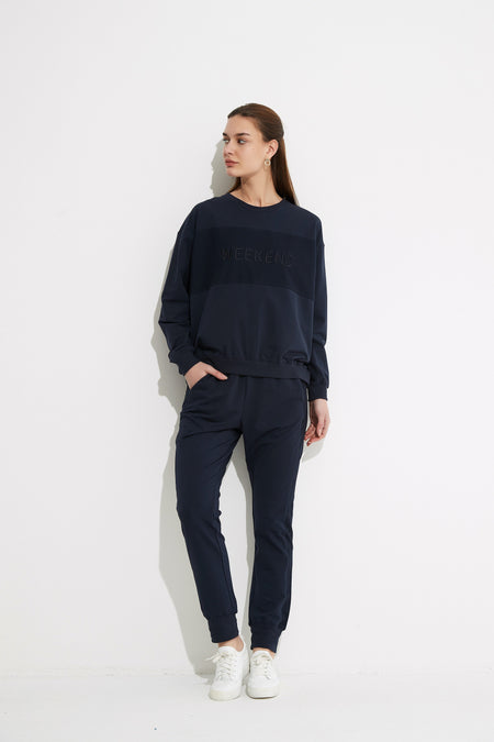 Cross Front Turtle Neck | Grey | Tirelli