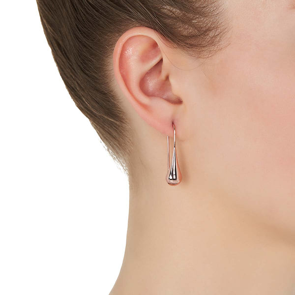 My Silent Tears Earring | Sterling Silver + Rose Gold + Gold | Najo