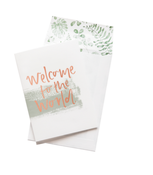 Welcome To The World - Emma Kate Greeting Card