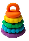 Stacker & Teether Silicone Toy - Whatever Mudgee Gifts & Homewares