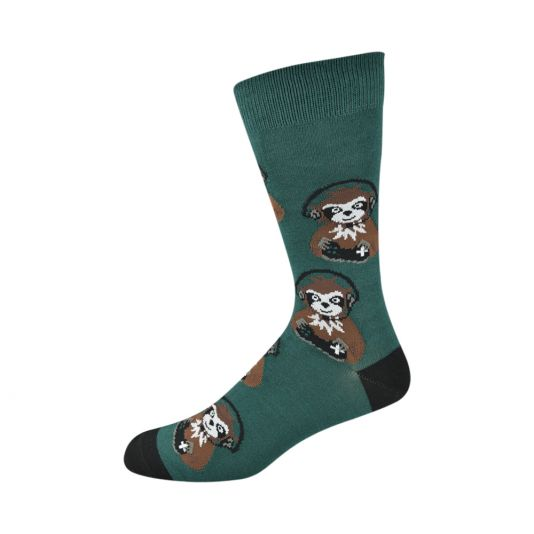 Bamboozld | Bamboo Men's Socks | Sloth Gamer