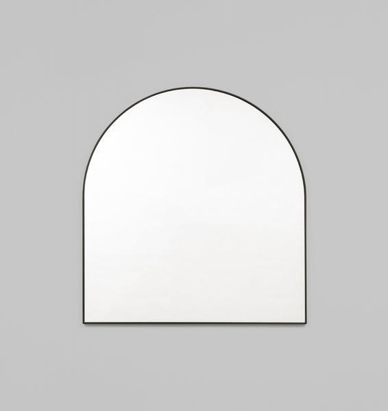 Bjorn Arch thin Black or White | 80x85cm | Mirror