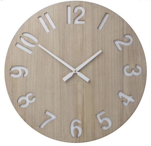 Henrik | Natural 60cm | Wall Clock