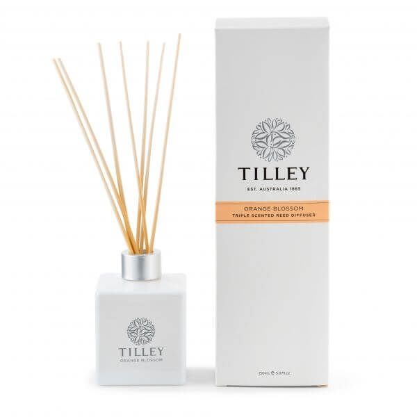 Orange Blossom Aromatic Reed Diffuser 150mL - Tilley