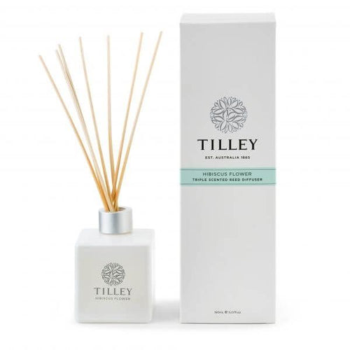 Hibiscus Flower Aromatic Reed Diffuser 150mL - Tilley