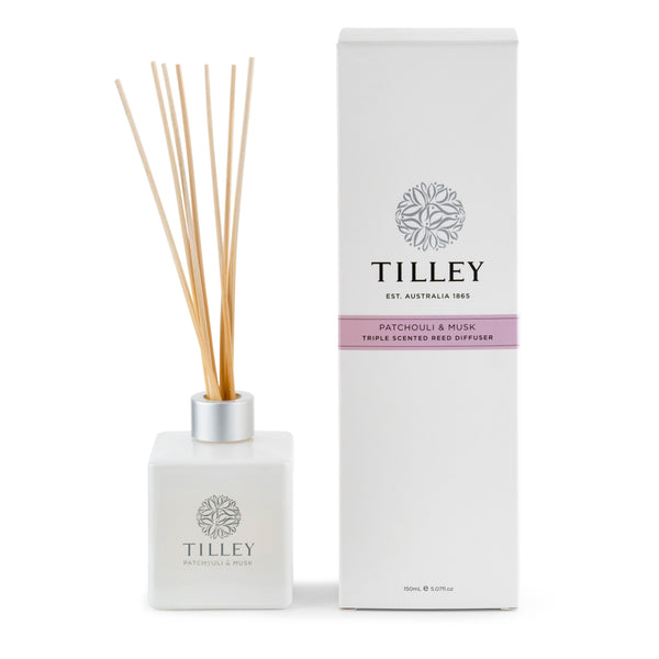 Patchouli & Musk Aromatic Reed Diffuser 150mL | Tilley