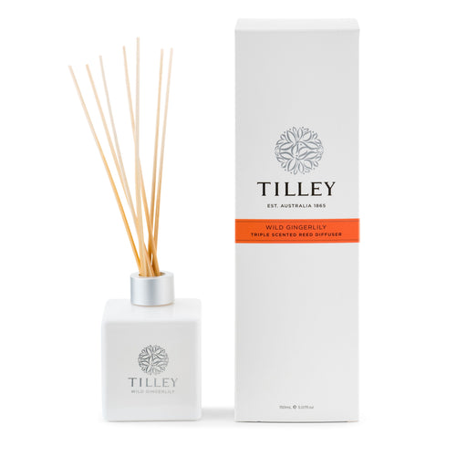 Wild Gingerlily Aromatic Reed Diffuser 150mL - Tilley