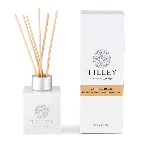Vanilla Bean Aromatic Reed Diffuser 75mL - Tilley