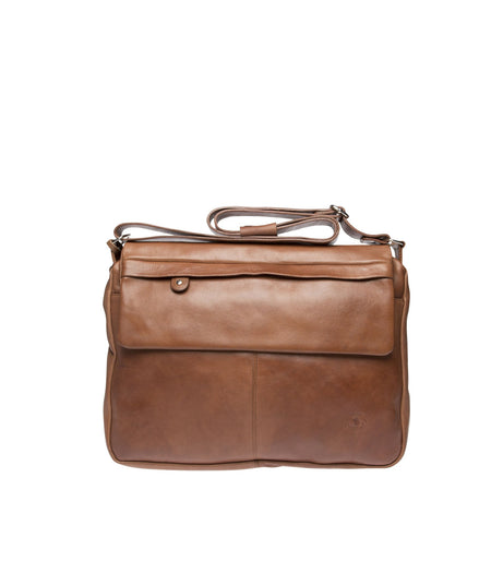 Lawson Leather Duffle Bag Rose & Lyle
