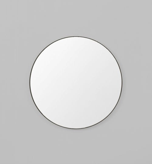 Flynn Round Mirror Black - Whatever Mudgee Gifts & Homewares