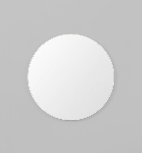 Flynn Round Mirror White - Whatever Mudgee Gifts & Homewares