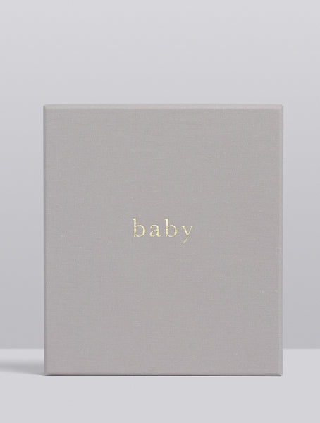 Baby Your First Five Years | Grey | Write To Me