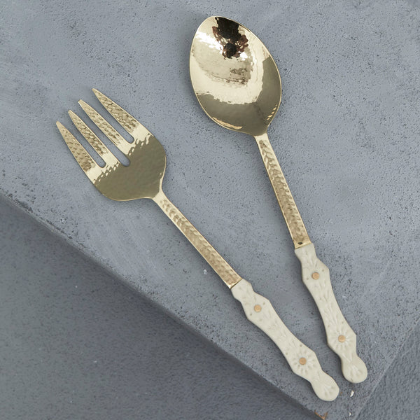 HANA RESIN SALAD SERVERS - Whatever Mudgee Gifts & Homewares