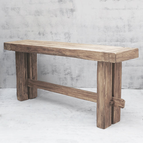 Yashar Rustic Timber Console - Whatever Mudgee Gifts & Homewares
