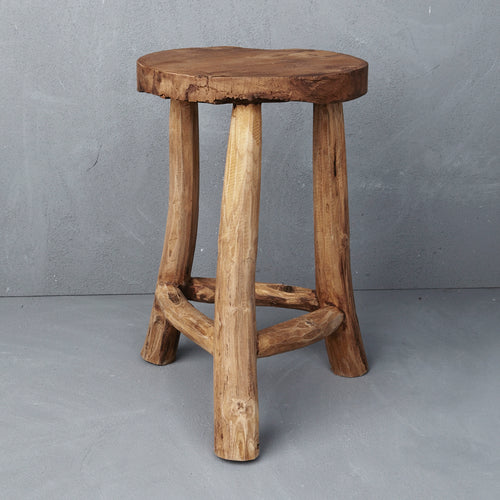 Timber Milking Lale Stool - Whatever Mudgee Gifts & Homewares