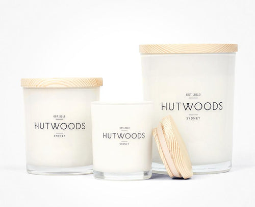 Lychee & Peony Candle - Hutwoods