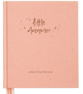 Little Dreamer | Baby Journal | PETAL PINK - Emma Kate Co