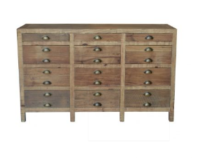 Printmakers Chest Sideboard Console - Whatever Mudgee Gifts & Homewares